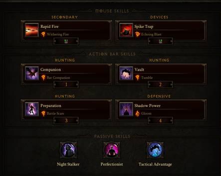 Diablo  Demon Hunter Rapid Fire Build