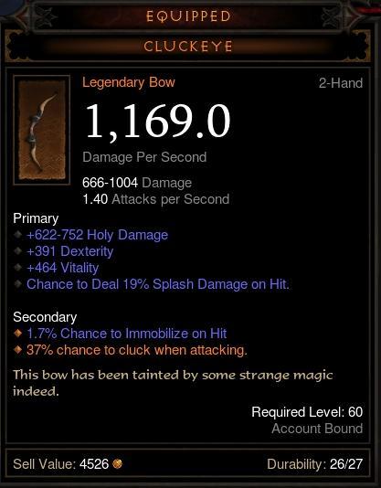 diablo 3 legendary bow cluckeye
