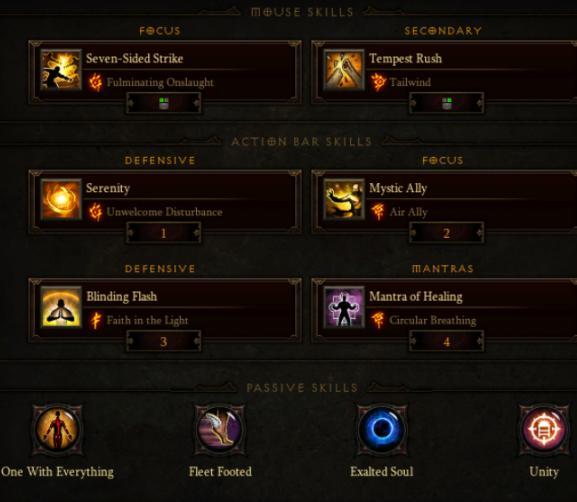 Reaper of Souls Monk Infinite Seven-Sided Strike Build